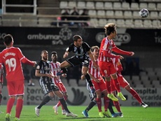 El Girona pasa en Copa del Rey. Twitter/FCCartagena_efs