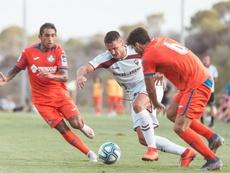 El Getafe rasca un trabajado empate ante el Albacete. AlbaceteBalompié
