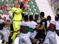 El Elche ha empatado sus dos primeros partidos de la temporada. LaLiga/Archivo