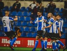 Un apagón puso en peligro el Hércules-Lleida. HérculesFC