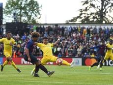 El Barcelona cayó en los penaltis. UEFA