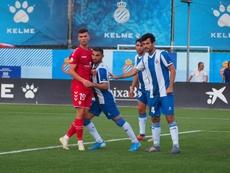 Castellón y Espanyol B se repartieron los puntos. Twitter/CD_Castellon