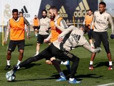 Bale y Jovic regresaron a los entrenamientos. RealMadrid