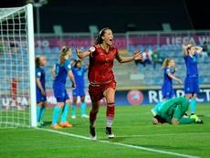 Épica victoria de la 'Roja' Sub 19 femenina. SeFutbol