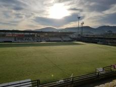 The Segunda B match has been postponed. Twitter/REALUNIONCIRUN