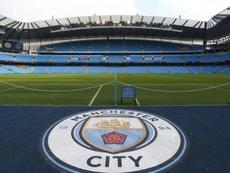 Bel gesto del Manchester City. AFP
