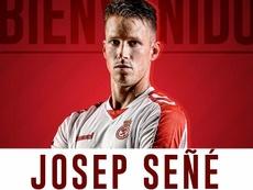 El Mallorca anuncia el fichaje de Señé. Twitter/RCD_Mallorca