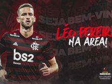 Léo Pereira, nuevo refuerzo de Flamengo. Twitter/Flamengo