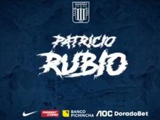 Patricio Rubio se compromete con Alianza Lima. Twitter/ClubALOficial