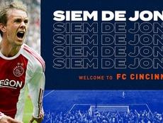 Siem de Jong se marcha a la MLS. Cincinnati