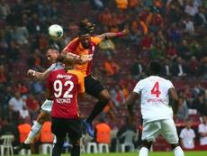 El Galatasaray venció y sufrió ante el Sivasspor. Twitter/GalatasaraySK