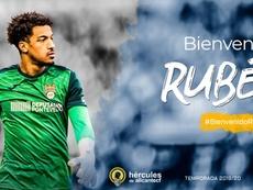 Rubén Ualoloca ya firmó su contrato. HérculesCF