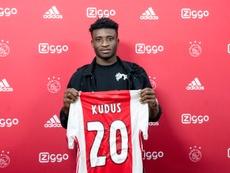 L'Ajax signe une pépite ghanéenne. Twitter/AFCAjax