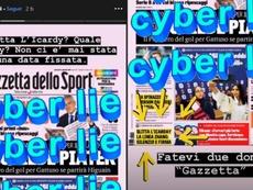Icardi a nié la supposée réunion. Instagram/mauroicardi