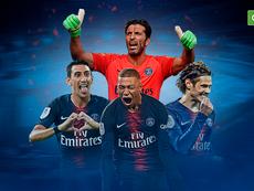 Le PSG, champion de France 2018-2019. BeSoccer