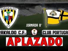 Un positivo en el Barakaldo obliga a aplazar el partido ante el Portugalete. Twitter/barakaoficial
