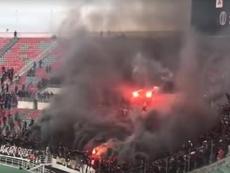 La violencia volvió a presentarse durante un partido. Captura/YouTube