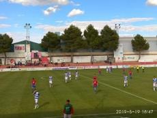 El choque entre La Roda y el Villacañas, envuelto en polémica. Twitter/CD_Villacanas