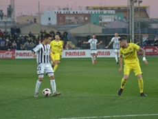 Imagen del partido de la pasada campaña entre ambos equipos. CD_Castellon