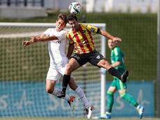 El Castilla cosechó la primera derrota de la temporada en el Alfredo Di Stéfano. RealMadrid