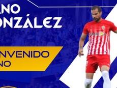 Nano González firma por el Recreativo. RecreativodeHuelva