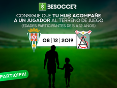 Consigue que tu hijo acompañe a un jugador en el Córdoba-Atlético Sanluqueño. BeSoccer