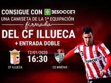 Consigue una camiseta firmada del Illueca y una entrada doble ante el CD Binéfar. BeSoccer