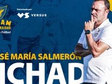 Salmerón buscará repetir el éxito de su primera etapa en el club. UCAMMurciaCF