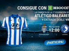 Consigue una camiseta del Atlético Baleares y una entrada para el duelo ante el Las Rozas. BeSoccer