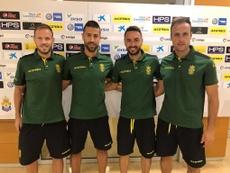 Las Palmas presentó a sus nuevos capitanes. Twitter/UDLP_Oficial