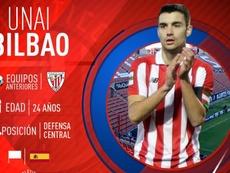 El canterano rojiblanco firmó con el equipo mexicano el día 8 de junio. AtléticoSanLuis