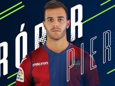 Le défenseur retrouve le club 'granota'. Twitter/Levante