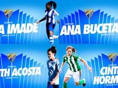 El Málaga Femenino se refuerza con otros cuatro fichajes. MálagaCF
