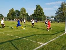 El conjunto alemán se despachó a gusto de su rival. LokomotivLeipzig