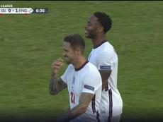 Sterling offre la victoire à l'Angleterre, sur le fil. Capture d'écran/UEFATV