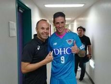 Iniesta y Torres son dos de los españoles que causan sensación en Japón. Instagram/AndresIniesta