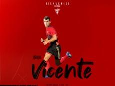 Íñigo Vicente cambia Bilbao por Miranda de Ebro. CDMirandés