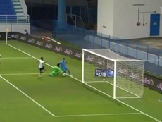 Dos golazos de Salem Al-Dawsari en menos de una semana. Captura/ArabianGulfLeague