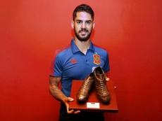 Isco 'MVP' de la 'Roja'. Marca