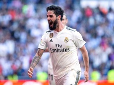 Isco has opened the scoring in both matches under Zidane so far. EFE