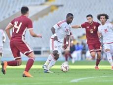 Venezuela venció por 0-2. UAE
