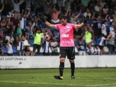 Falcón analizó la nueva derrota del equipo. HérculesCF