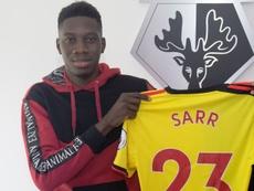 OFFICIEL : Ismaïla Sarr s'engage avec Watford. WatfordFC