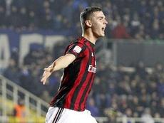Le jeune Sinani quitte le Milan AC. ACMilan