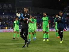 El Leganés se apoya en Cuéllar. Twitter/CDLeganés