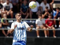 Iván Jaime fue uno de los goleadores. MálagaCF