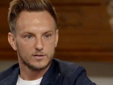 Rakitic est triste. Capture/MovistarFutbol