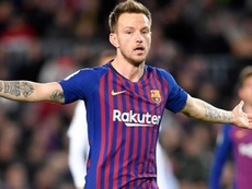 Rakitic was critical of the Barcelona board. AFP