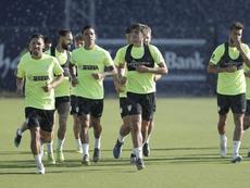 Nuevo revés para el Málaga: Luis Muñoz, lesionado. Twitter/MalagaCF