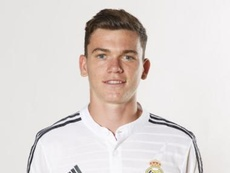 Jack Harper during his time at the Real Madrid youth team. Real Madrid